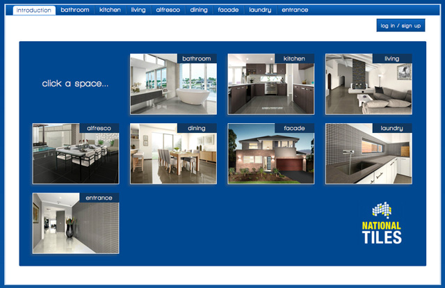 Autech National Tiles Visualiser